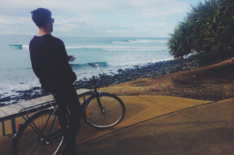 Bikes and Waves